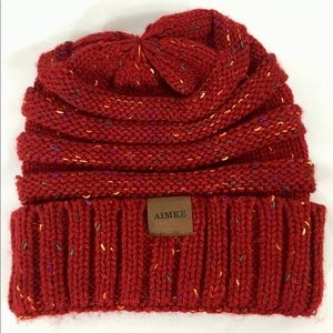 Aimee Women's Chunky Slouch Knit Beanie Cap Hat